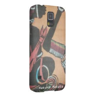 Coque Pour Samsung Galaxy S5 Créez votre propre joli mignon coloré de Hakuna