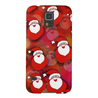 Coque Pour Samsung Galaxy S5 Le père noël mignon et doux avec des cadeaux.
