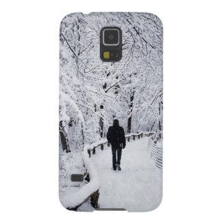 Coque Pour Samsung Galaxy S5 Marche au pays des merveilles d'hiver