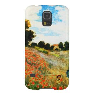 Coque Pour Samsung Galaxy S5 Monet-Pavots de Claude à Argenteuil