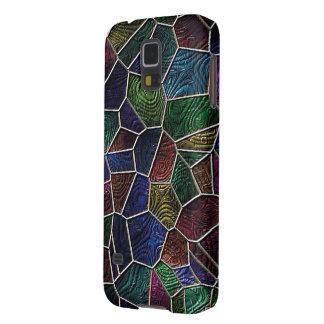 Coque Pour Samsung Galaxy S5 Mosaïque Lora, multicolore