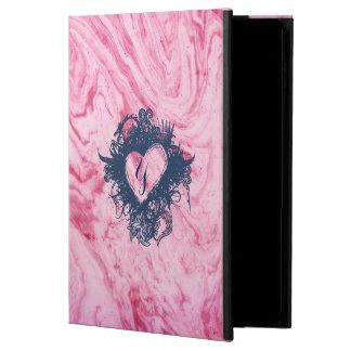 Coque Powis iPad Air 2 beau élégant de motif de marbre rose de texture
