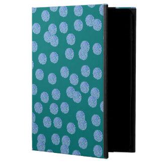 Coque Powis iPad Air 2 Caisse bleue de l'air 2 d'iPad de pois sans