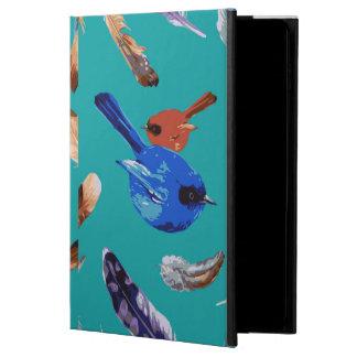 Coque Powis iPad Air 2 Caisse bleue de l'air 2 d'iPad d'oiseau sans