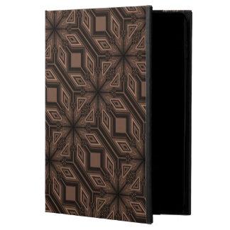 Coque Powis iPad Air 2 Cas brun chocolat d'iCase de Powis de l'air 2