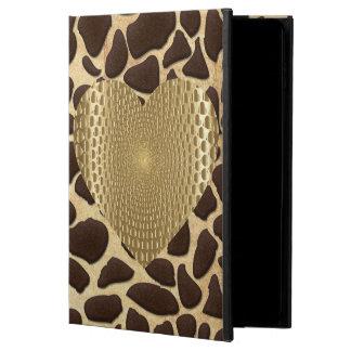 Coque Powis iPad Air 2 Coeur prismatique d'or de poster de animal de