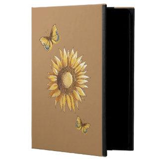 Coque Powis iPad Air 2 Élégant décoratif de tournesol et de papillons