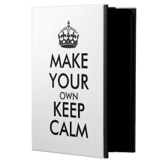 Coque Powis iPad Air 2 Faites vos propres garder le calme - noir