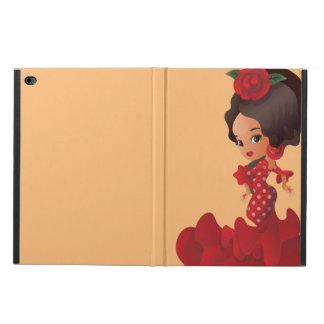 Coque Powis iPad Air 2 Fille de kawaii de chibi de bande dessinée de