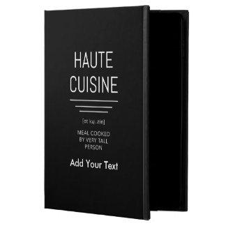 Coque Powis iPad Air 2 Haute cuisine française drôle de chef