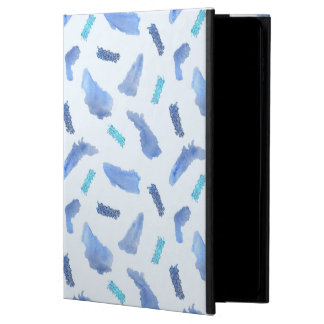 Coque Powis iPad Air 2 Le bleu repère la caisse de l'air 2 d'iPad sans