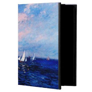 Coque Powis iPad Air 2 Monet-Falaises et voiliers de Claude chez