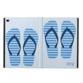 Coque Powis iPad Air 2 Monogramme de plage d'été de bascules