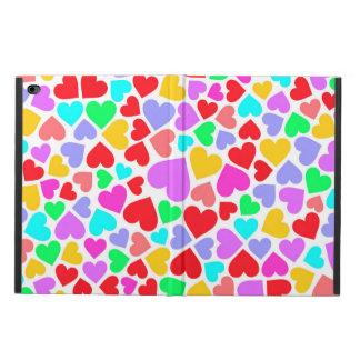 Coque Powis iPad Air 2 Motifs colorés mignons de coeurs