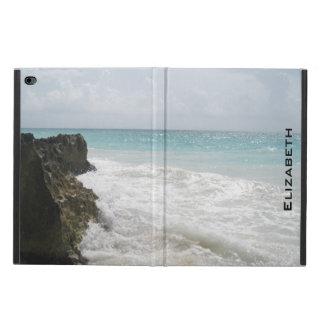 Coque Powis iPad Air 2 Océan bleu avec le paysage marin mousseux de