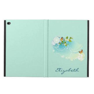 Coque Powis iPad Air 2 Papillons et fleurs de fleur