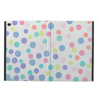 Coque Powis iPad Air 2 Points multicolores de confettis sur le gris léger