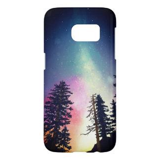 Coque Samsung Galaxy S7 Beau ciel nocturne brillant jusqu'aux cieux