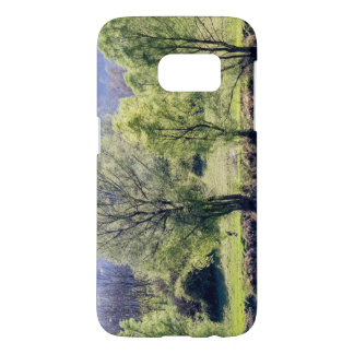 Coque Samsung Galaxy S7 Beaux arbres verts