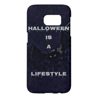 Coque Samsung Galaxy S7 Caisse de la galaxie S7 de Halloween