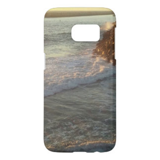 Coque Samsung Galaxy S7 Caisse de plage de la galaxie s4 de Samsung