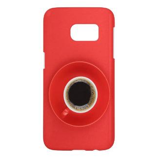 "Coque Samsung Galaxy S7 Caisse rouge ""mon énergie """