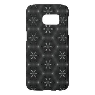 Coque Samsung Galaxy S7 Cas androïde de motif noir