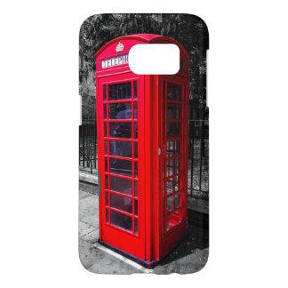 Coque Samsung Galaxy S7 Cas de cabine de téléphone de Londres (galaxie S7