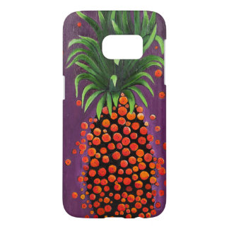 Coque Samsung Galaxy S7 cas de téléphone d'ananas de shimmy de shimmy pour