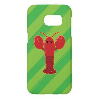 Coque Samsung Galaxy S7 Cas mignon du homard SG7