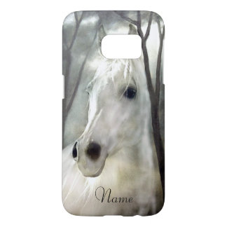 Coque Samsung Galaxy S7 Cheval blanc