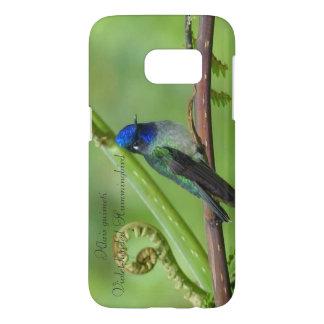 Coque Samsung Galaxy S7 colibri Violet-dirigé