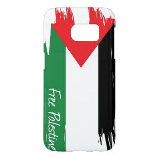 Coque Samsung Galaxy S7 De la Palestine de drapeau de caisse couverture