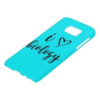 Coque Samsung Galaxy S7 I cas de téléphone de biologie de coeur