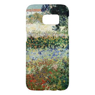 Coque Samsung Galaxy S7 Jardin de Vincent van Gogh | en fleur, Arles, 1888