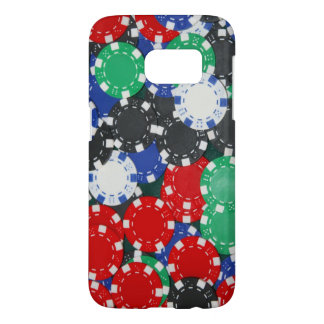 Coque Samsung Galaxy S7 jetons de poker