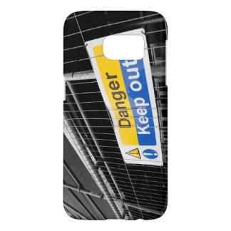 Coque Samsung Galaxy S7 Le danger empêchent d'entrer le signe