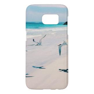 Coque Samsung Galaxy S7 Le tir près de la plage de l'oiseau marin
