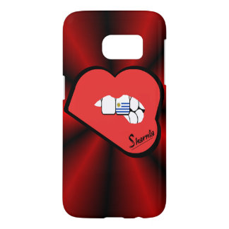 Coque Samsung Galaxy S7 Lèvres de Rd de cas de téléphone portable de