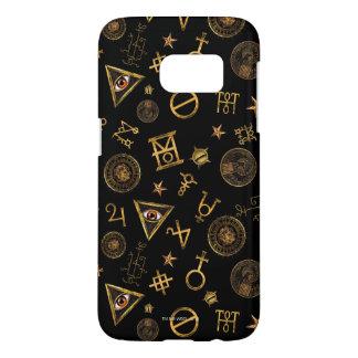 Coque Samsung Galaxy S7 M.A.C.U.S.A. Symboles et motif magiques de crêtes