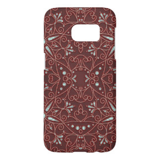 Coque Samsung Galaxy S7 motif majestueux B