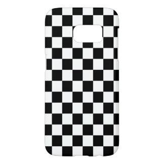Coque Samsung Galaxy S7 Motif noir et blanc de contrôle