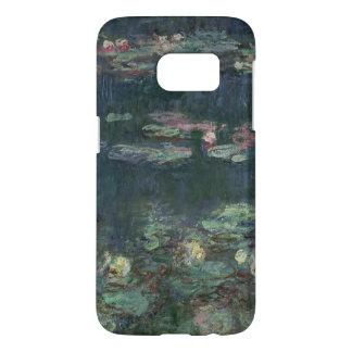 Coque Samsung Galaxy S7 Nénuphars de Claude Monet | : Réflexions vertes