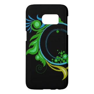 Coque Samsung Galaxy S7 Noir et vert