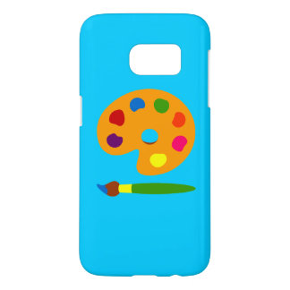Coque Samsung Galaxy S7 Peignez la caisse de la palette SG7