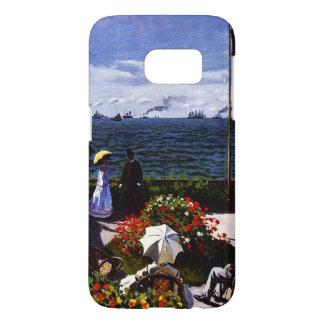 Coque Samsung Galaxy S7 Terrasse de Claude Monet-The chez Sainte-Adresse