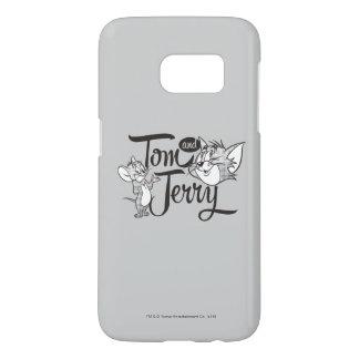 Coque Samsung Galaxy S7 Tom et Jerry | Tom et Jerry semblant doux