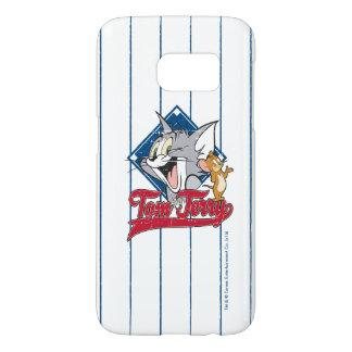 Coque Samsung Galaxy S7 Tom et Jerry | Tom et Jerry sur le diamant de