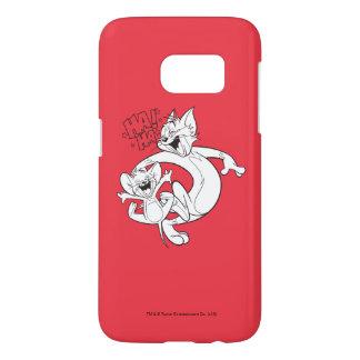 Coque Samsung Galaxy S7 Tom et Jerry | Tom et rire de Jerry