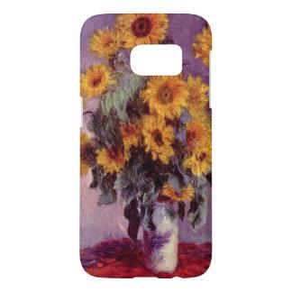 Coque Samsung Galaxy S7 Tournesols par Claude Monet